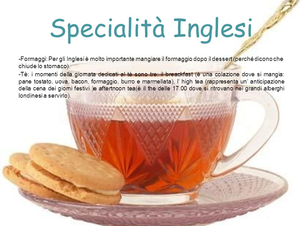 Specialità Inglesi
