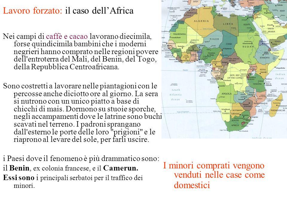 Lavoro forzato: il caso dell'Africa