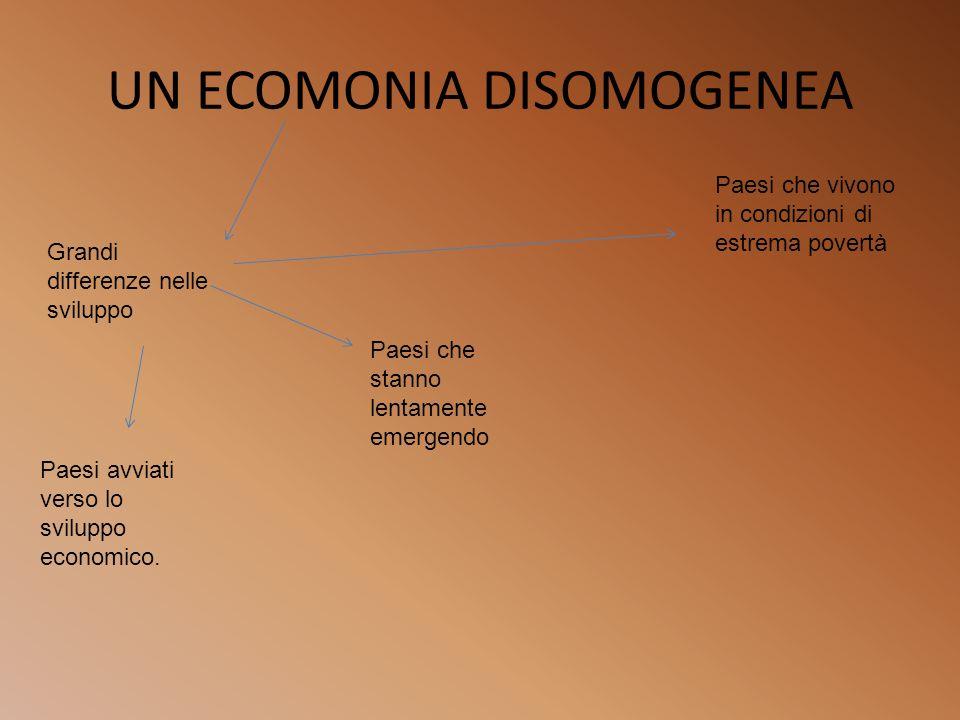 UN ECOMONIA DISOMOGENEA