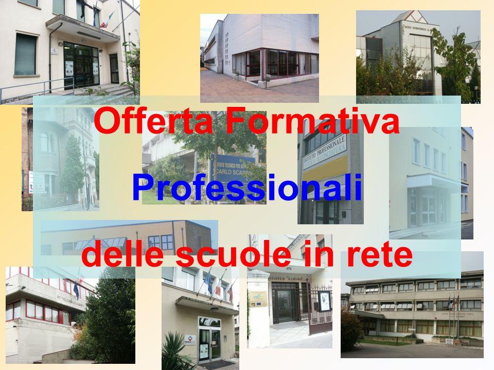 Offerta Formativa Professionali delle scuole in rete
