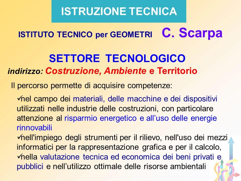 ISTITUTO TECNICO per GEOMETRI C. Scarpa
