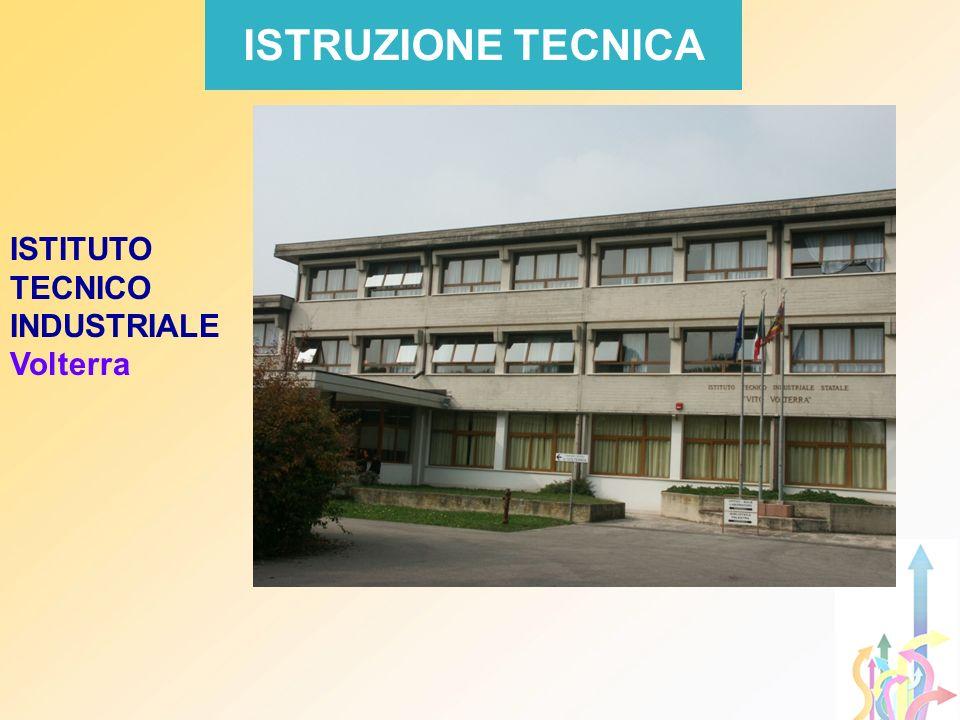 ISTRUZIONE TECNICA ISTITUTO TECNICO INDUSTRIALE Volterra