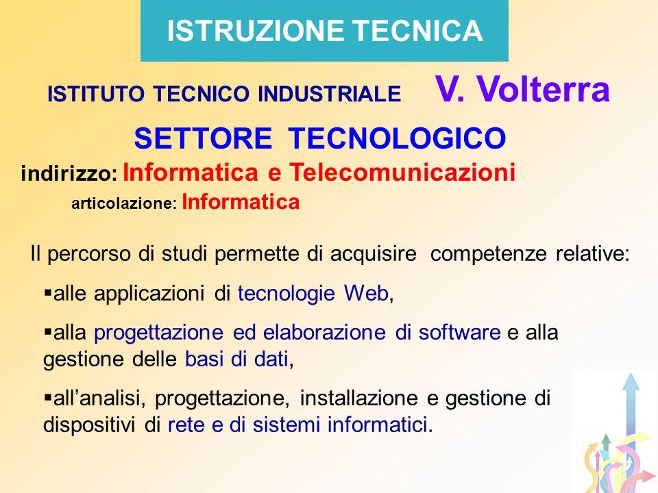 ISTITUTO TECNICO INDUSTRIALE V. Volterra