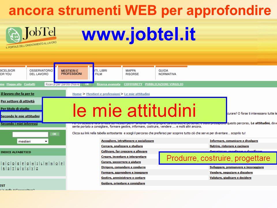 ancora strumenti WEB per approfondire