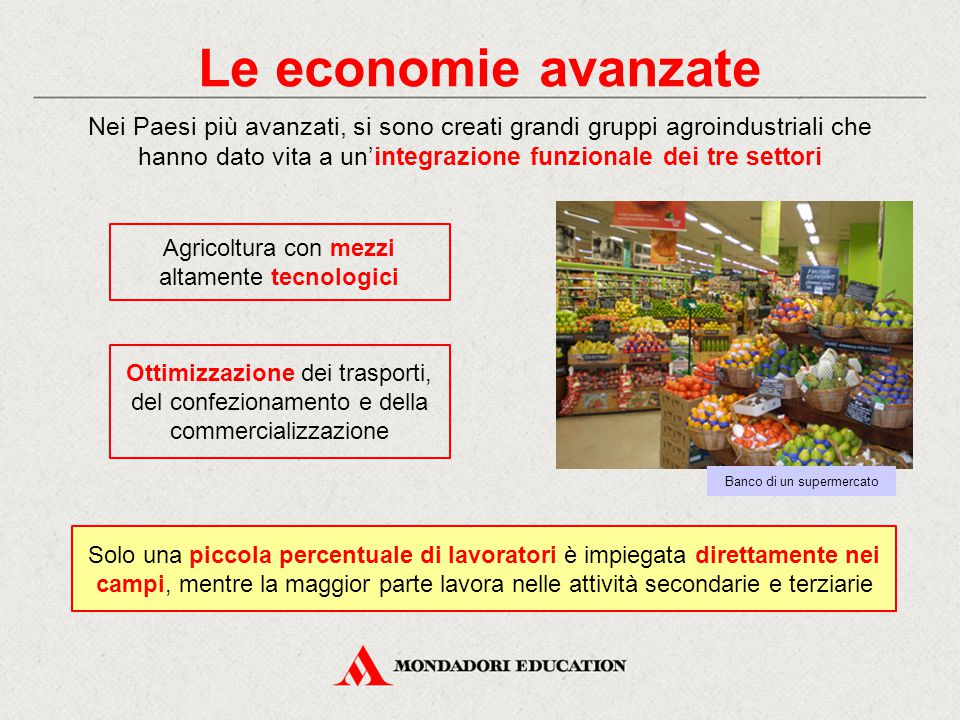 Le economie avanzate