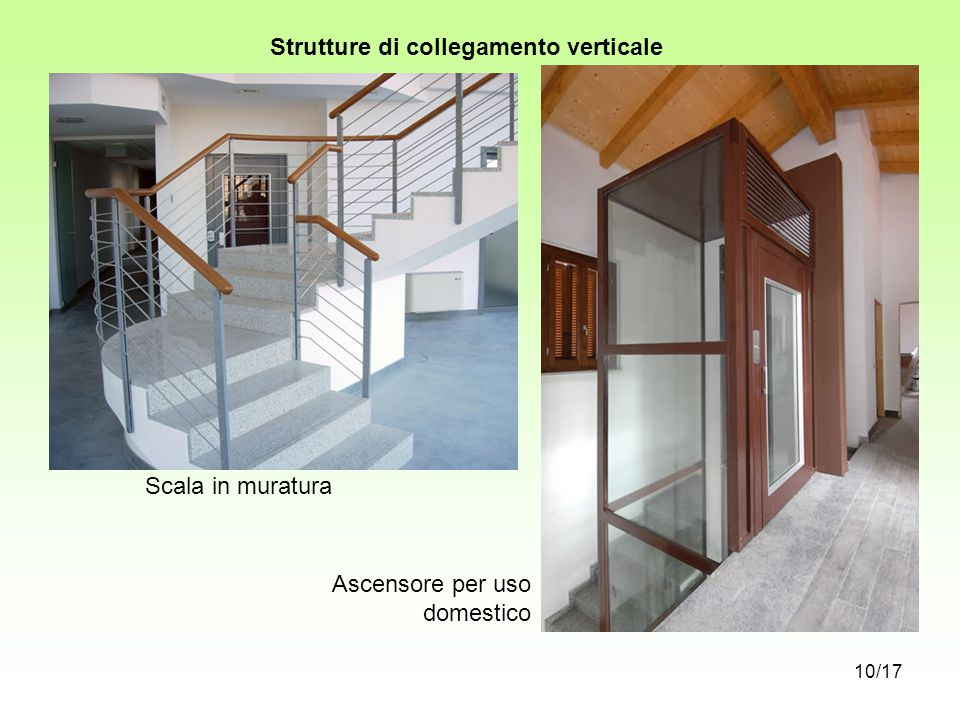 Strutture di collegamento verticale