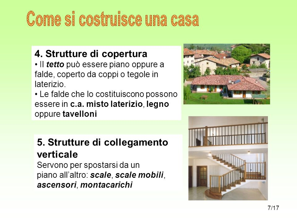 come si costruisce una casa ppt scaricare