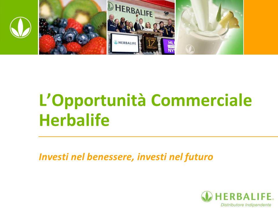 L'Opportunità Commerciale Herbalife