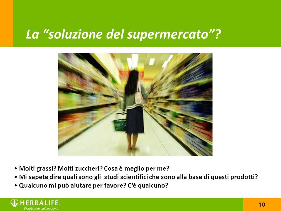 La soluzione del supermercato