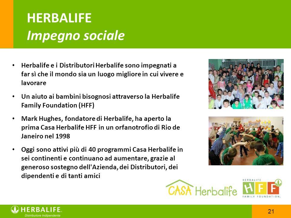 HERBALIFE Impegno sociale