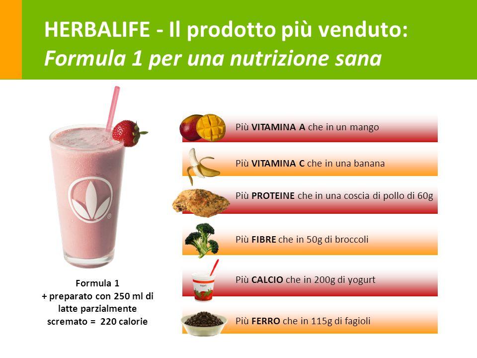 HERBALIFE - Il prodotto più venduto: Formula 1 per una nutrizione sana