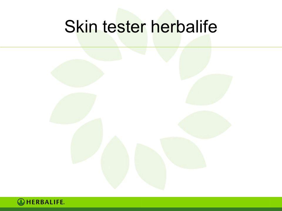 Skin tester herbalife
