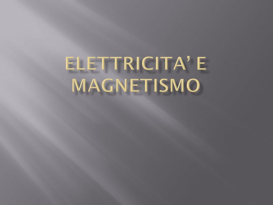 ELETTRICITA' E MAGNETISMO