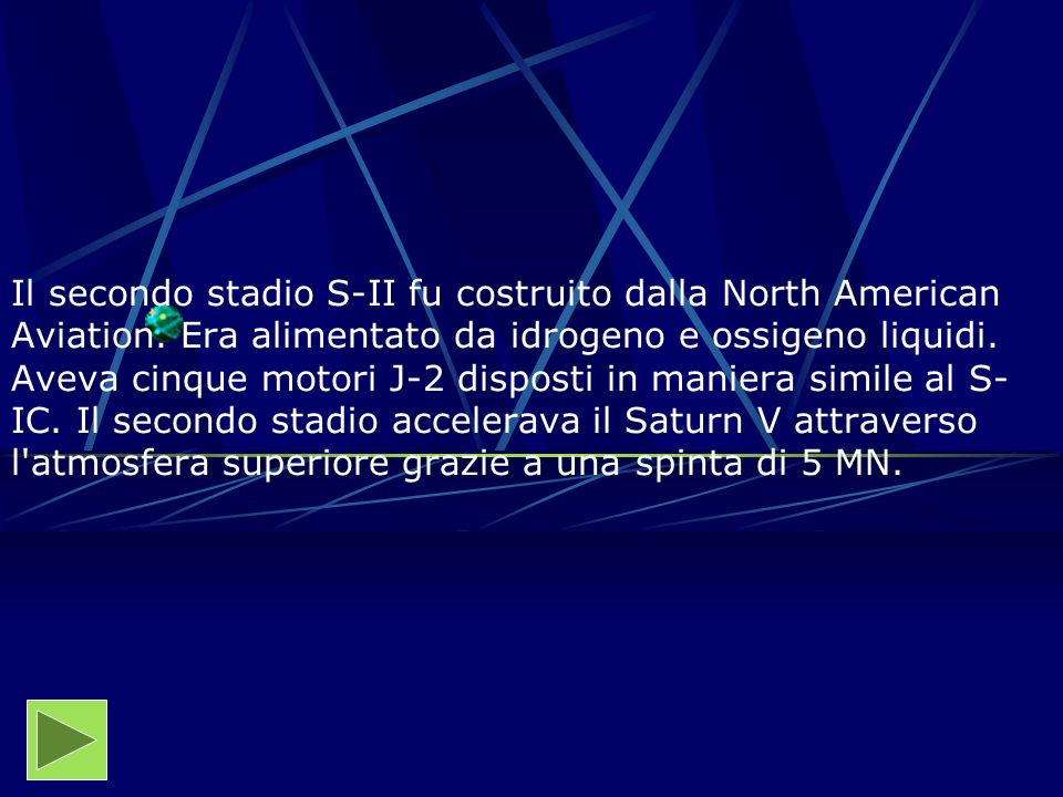 Il secondo stadio S-II fu costruito dalla North American Aviation