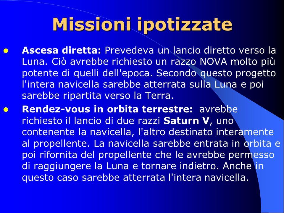 Missioni ipotizzate