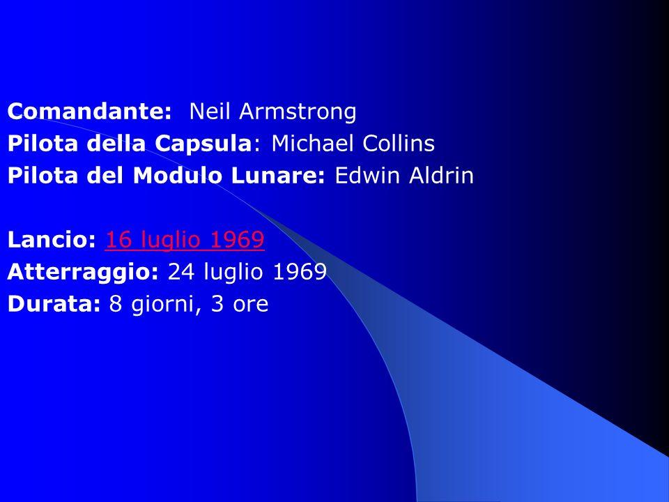 Comandante: Neil Armstrong