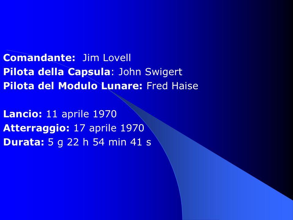 Comandante: Jim Lovell