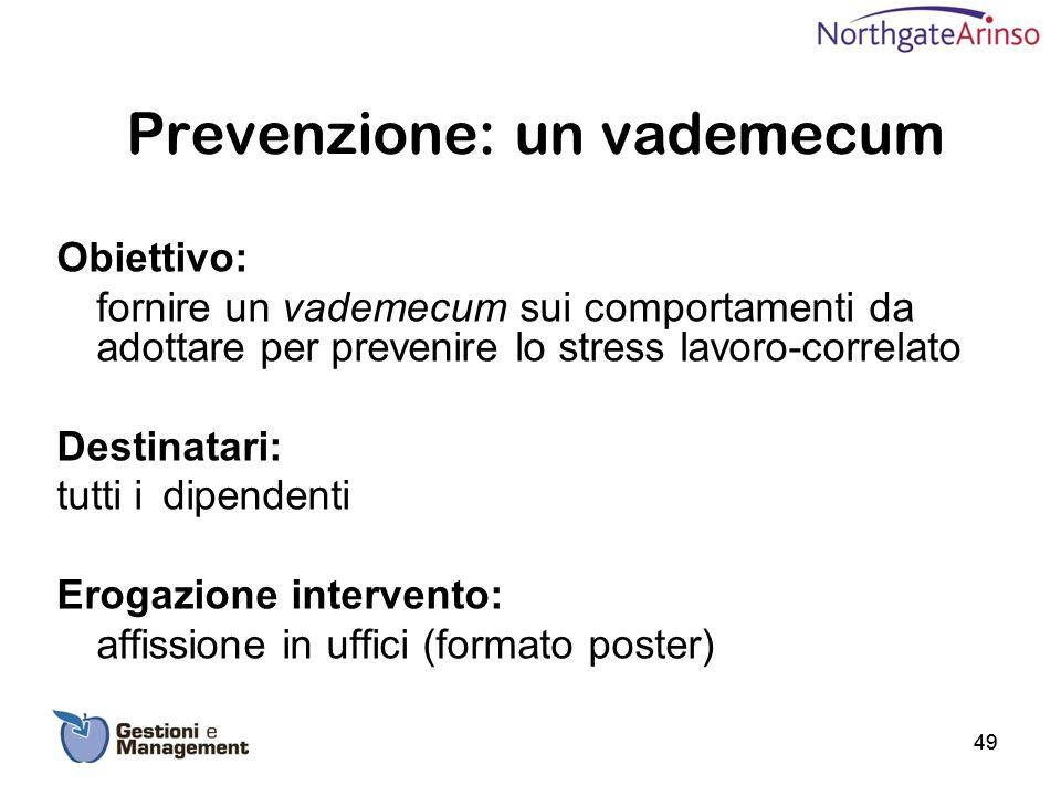 Prevenzione: un vademecum