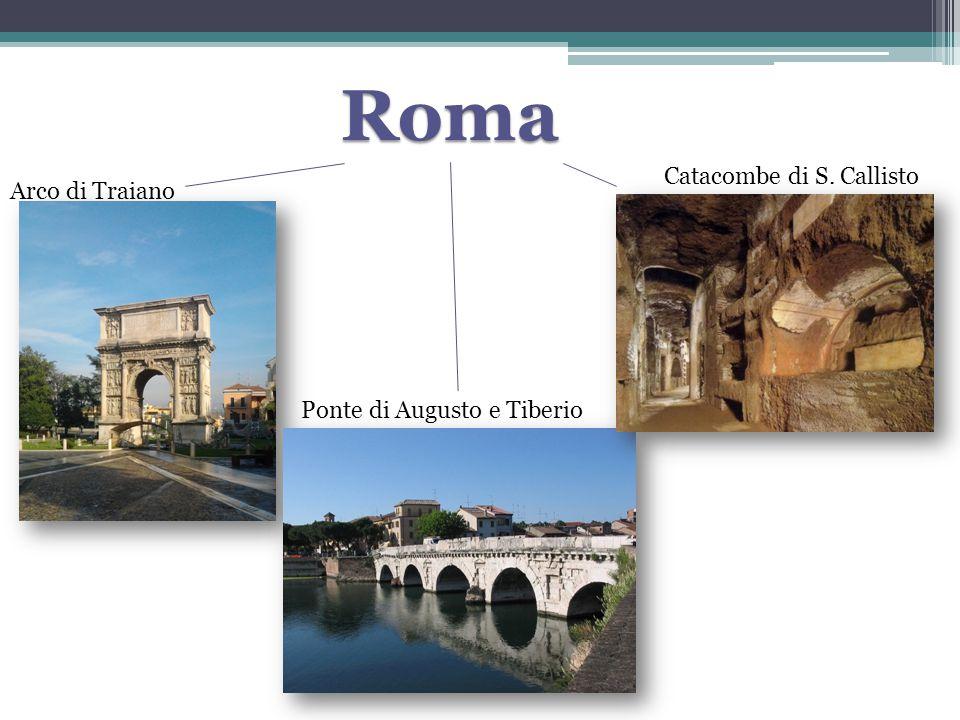 Roma Catacombe di S. Callisto Arco di Traiano