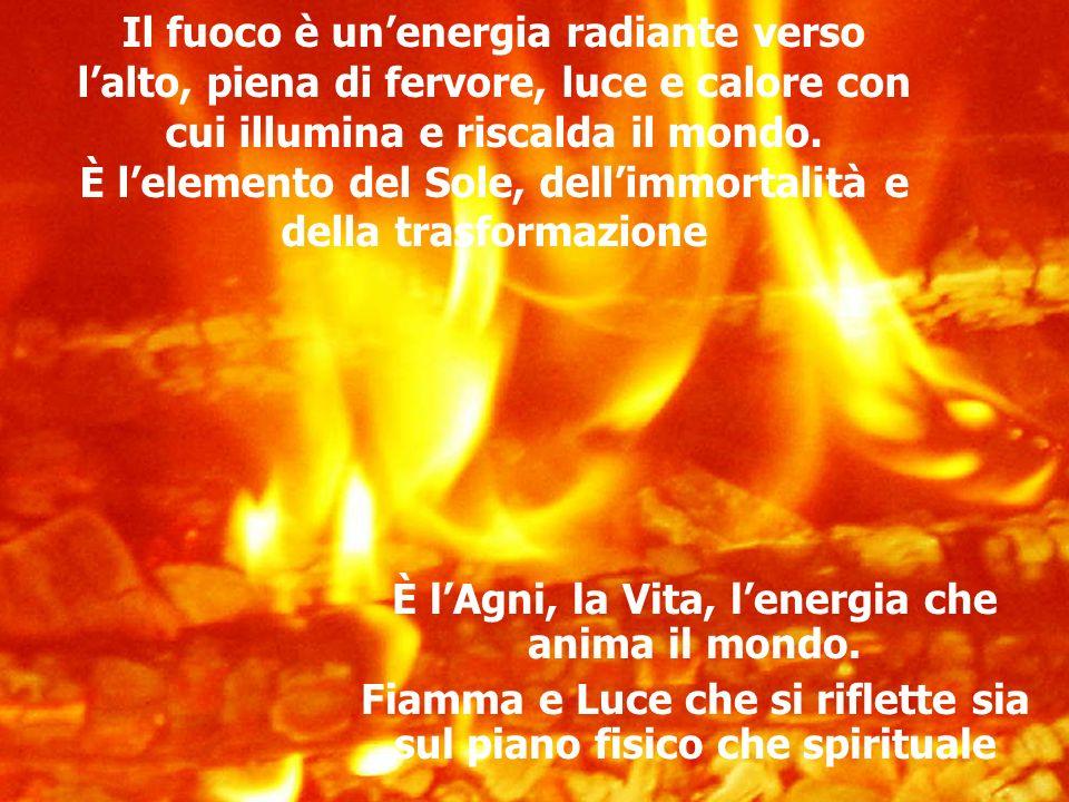 È l'Agni, la Vita, l'energia che anima il mondo.
