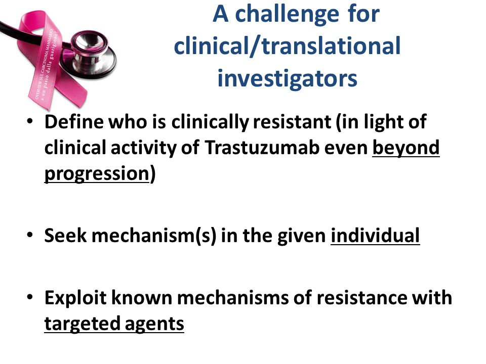 A challenge for clinical/translational investigators