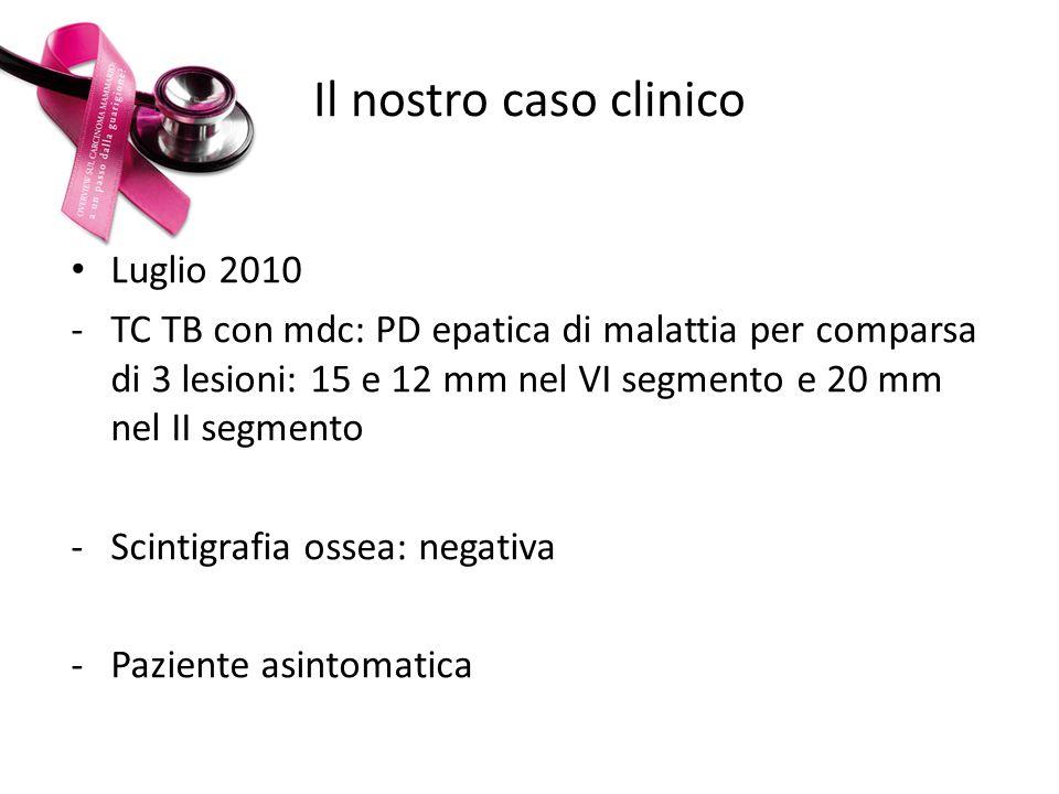 Il nostro caso clinico Luglio 2010