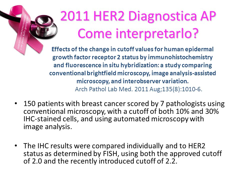 2011 HER2 Diagnostica AP Come interpretarlo