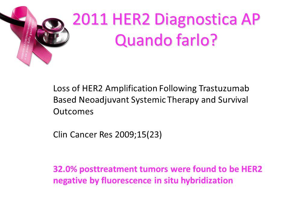 2011 HER2 Diagnostica AP Quando farlo