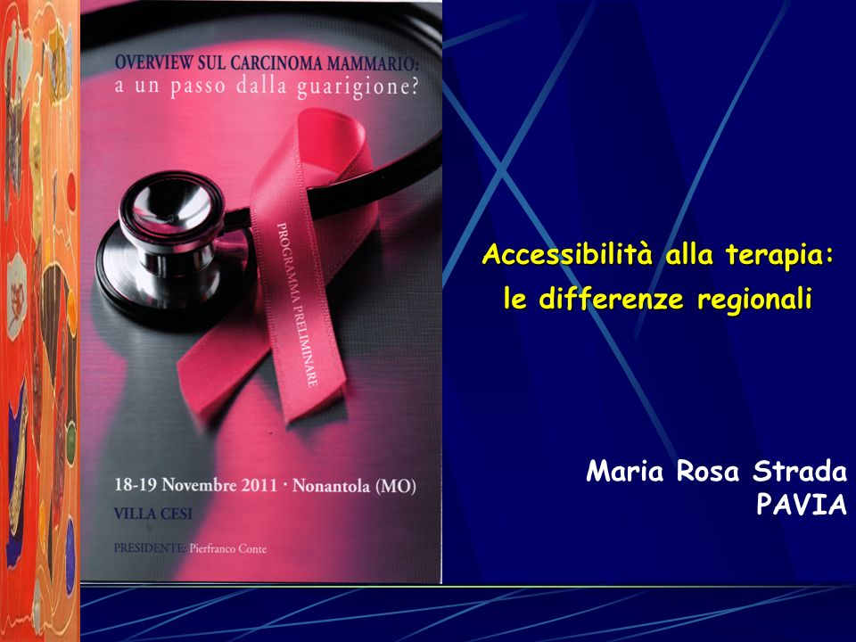 Accessibilità alla terapia: le differenze regionali