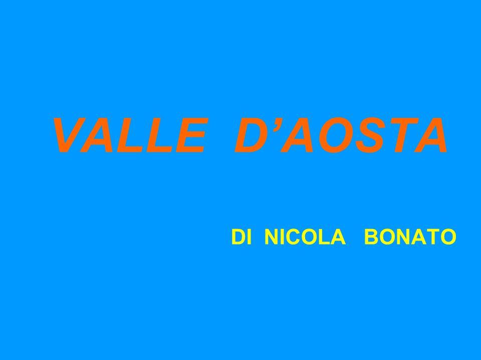 VALLE D'AOSTA DI NICOLA BONATO