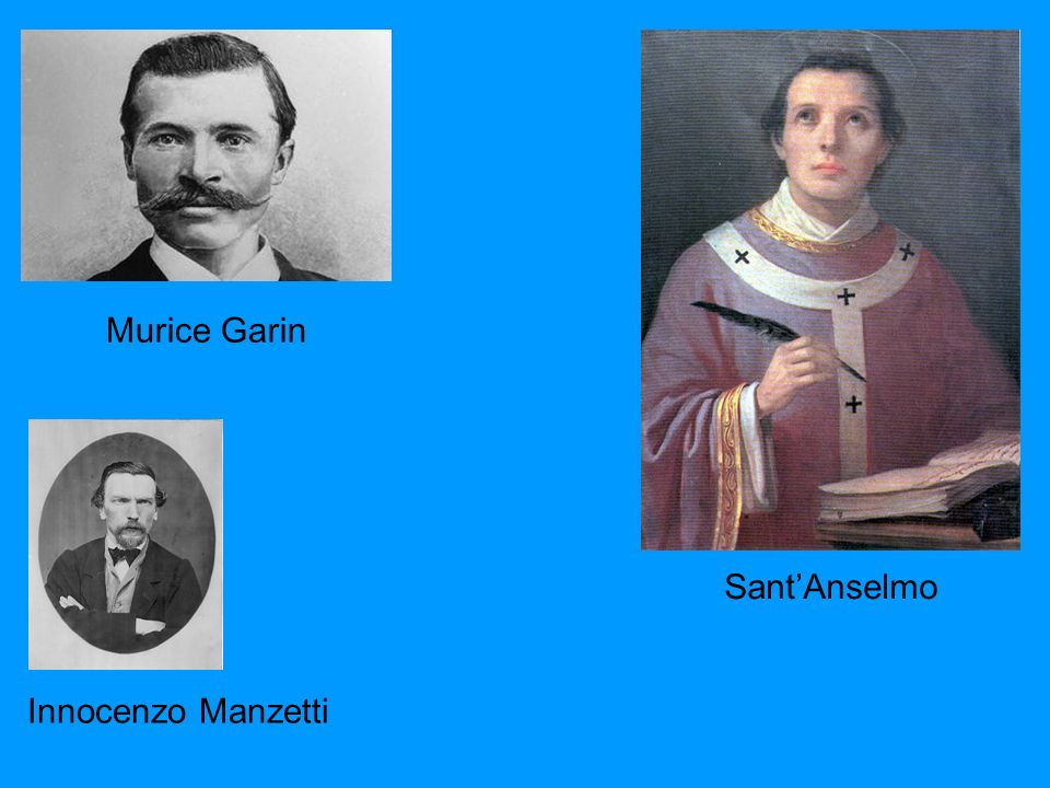 Murice Garin Sant'Anselmo Innocenzo Manzetti