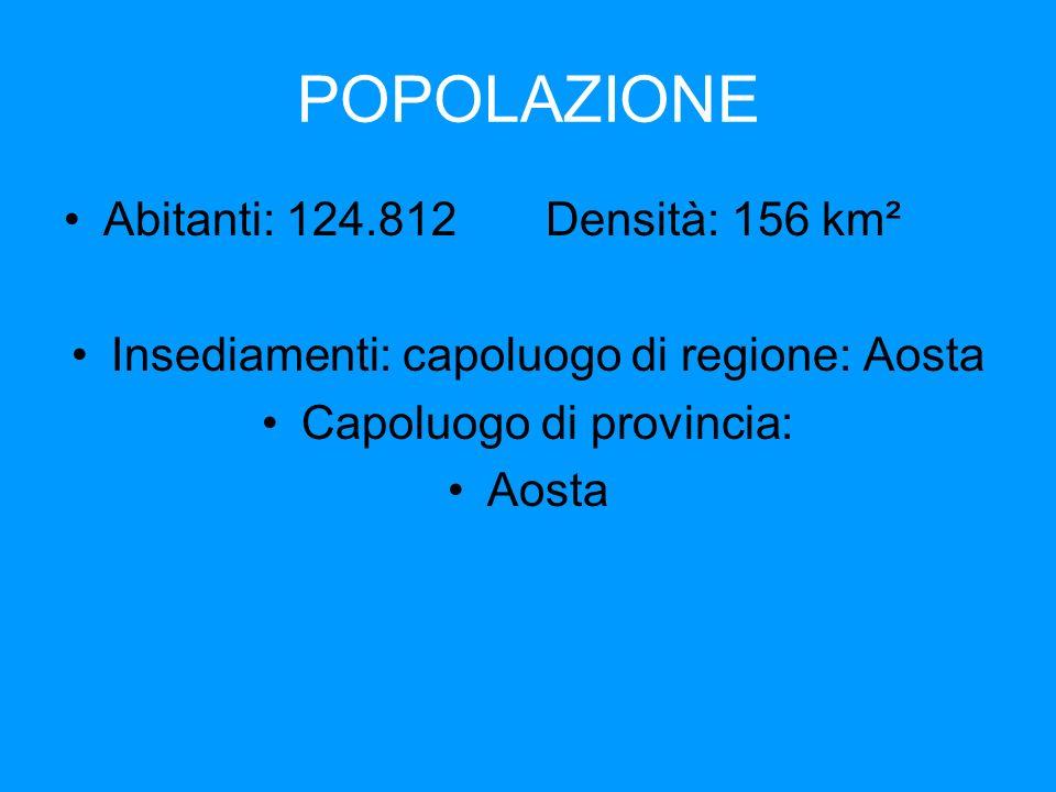 POPOLAZIONE Abitanti: 124.812 Densità: 156 km²