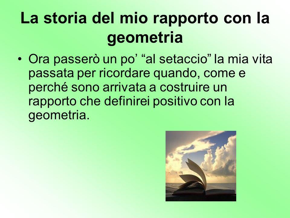 La storia del mio rapporto con la geometria