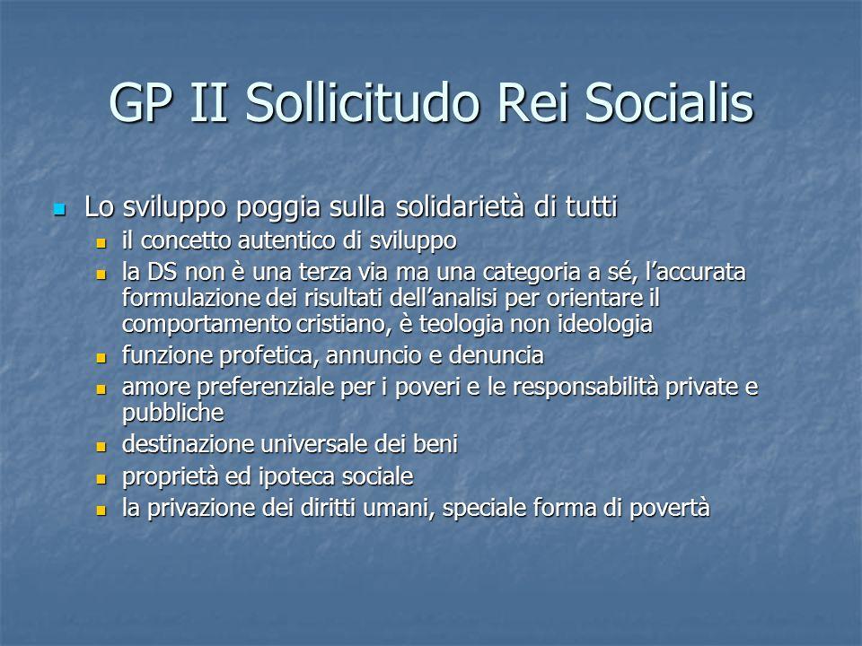 GP II Sollicitudo Rei Socialis