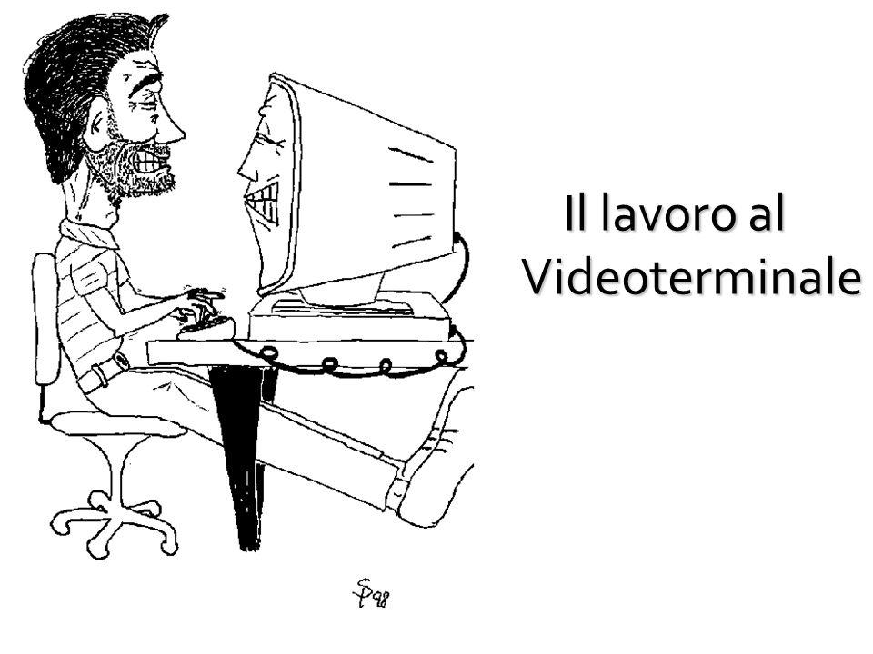 Il lavoro al Videoterminale