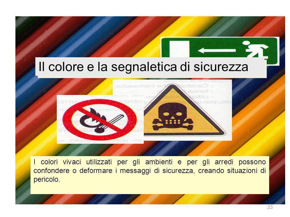 Il colore e la segnaletica di sicurezza