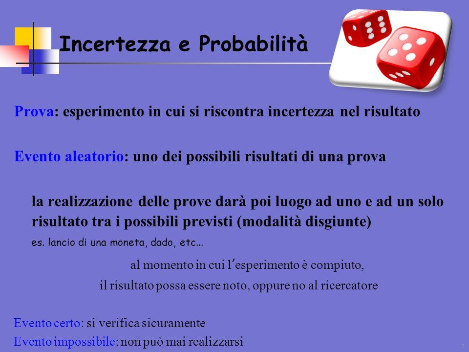 Incertezza e Probabilità