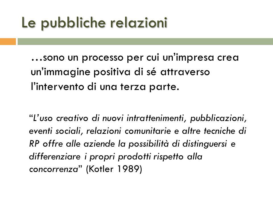 Le pubbliche relazioni