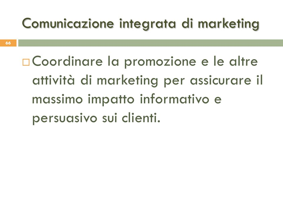 Comunicazione integrata di marketing