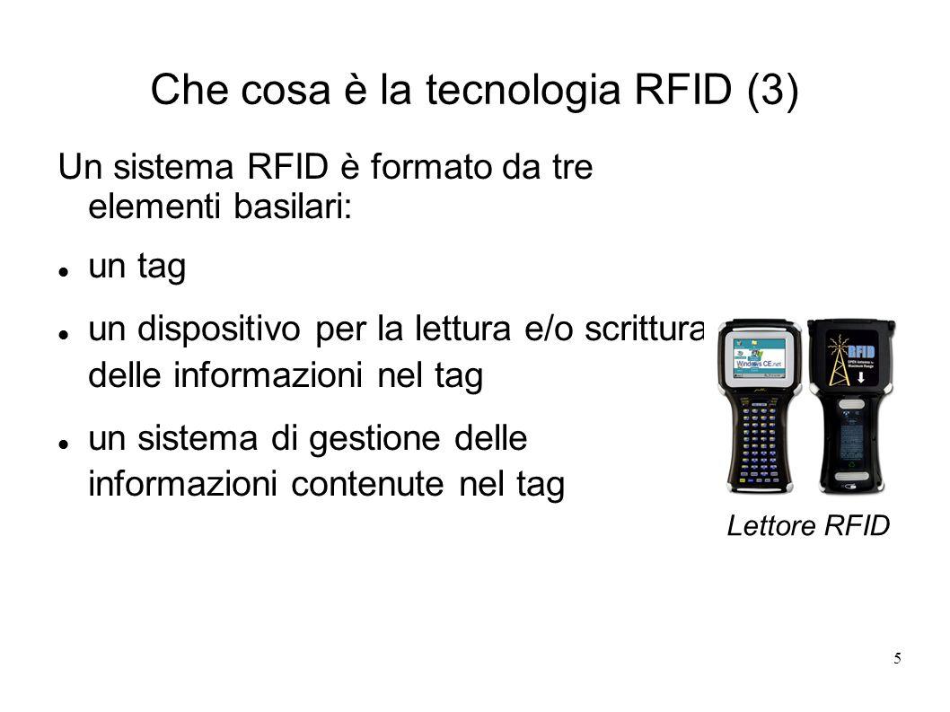 Che cosa è la tecnologia RFID (3)