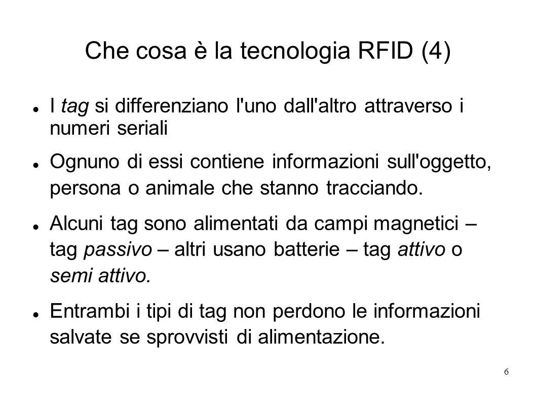 Che cosa è la tecnologia RFID (4)