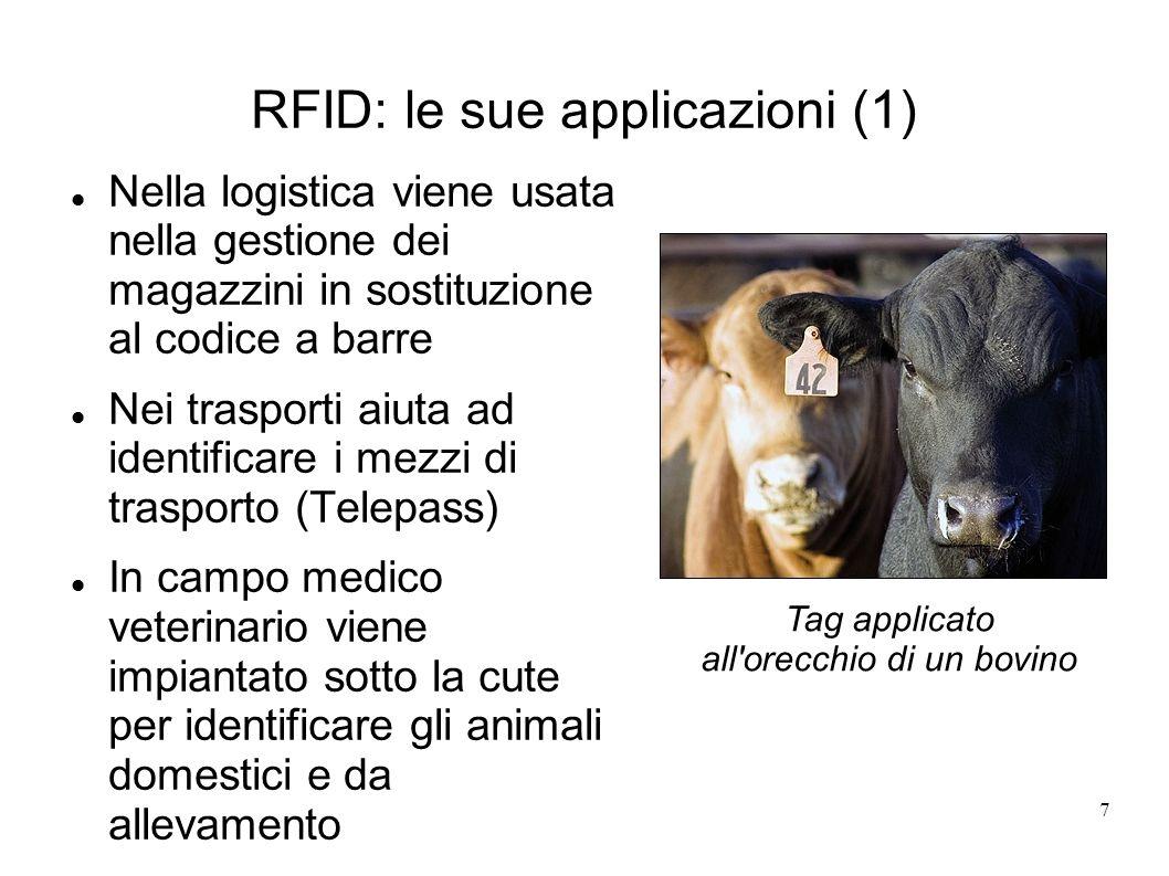RFID: le sue applicazioni (1)