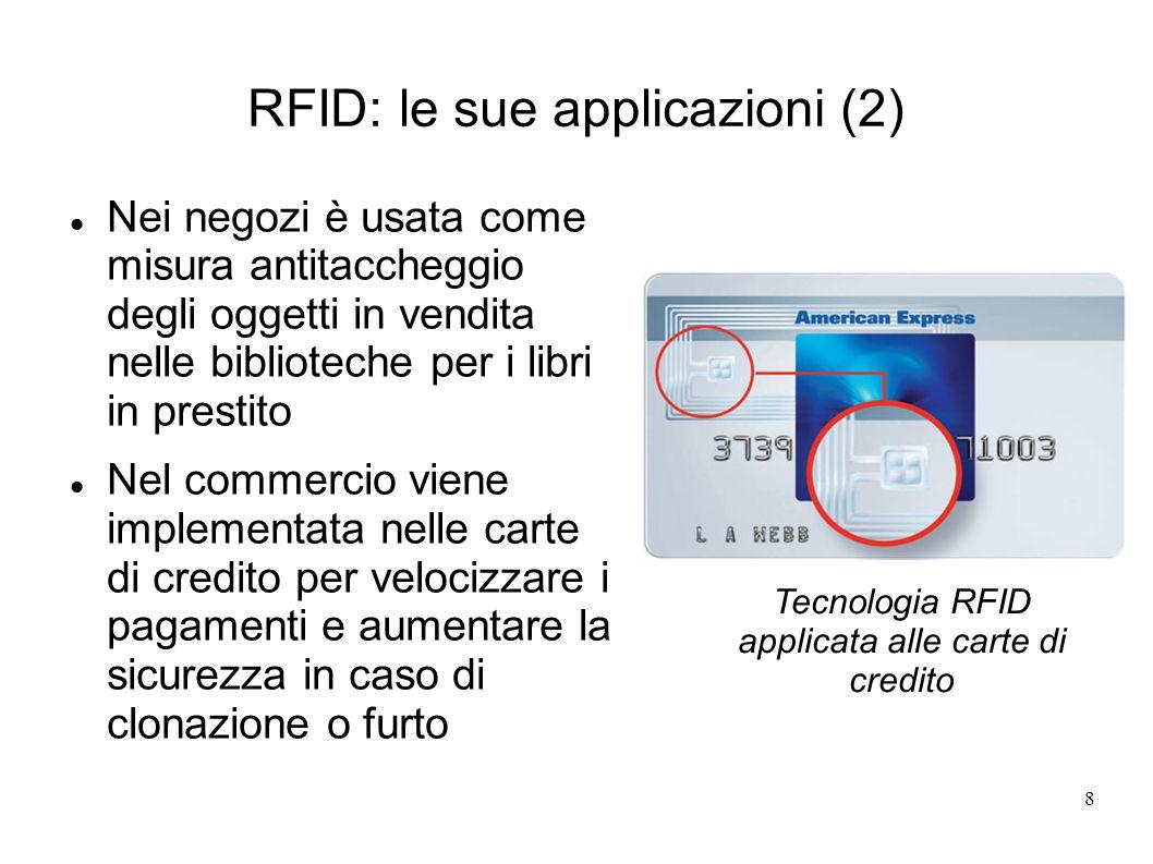 RFID: le sue applicazioni (2)