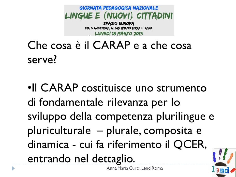 Che cosa è il CARAP e a che cosa serve