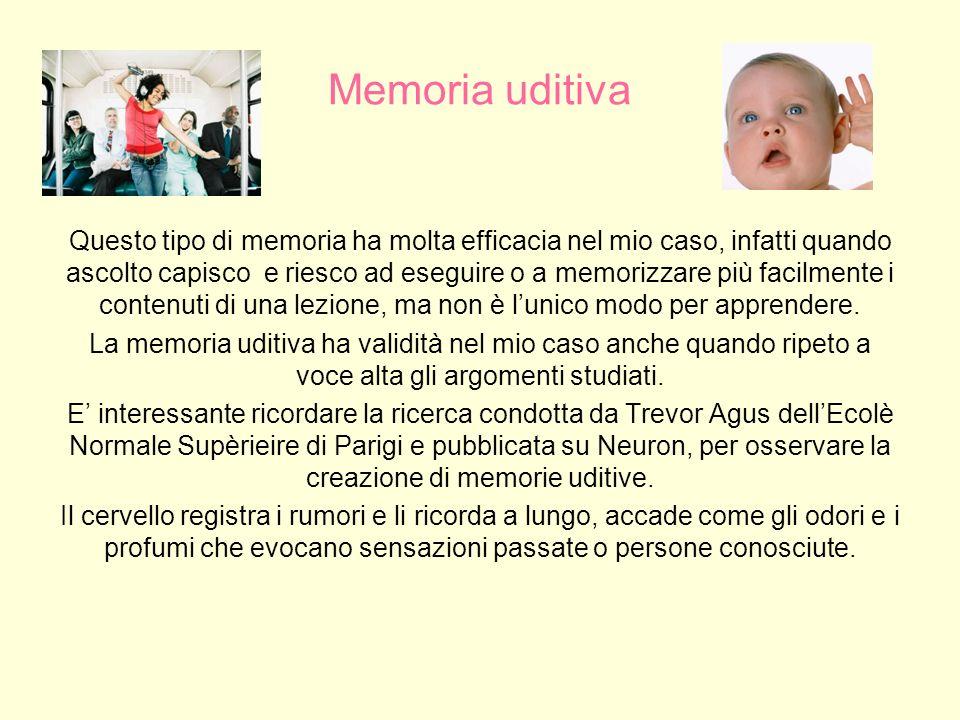 Memoria uditiva