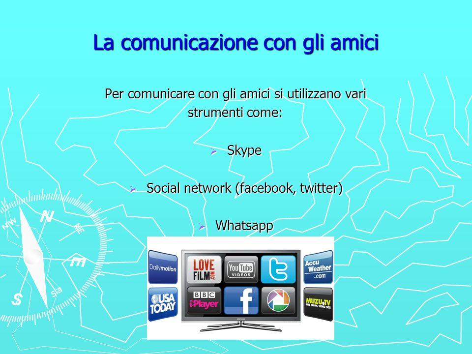 La comunicazione con gli amici