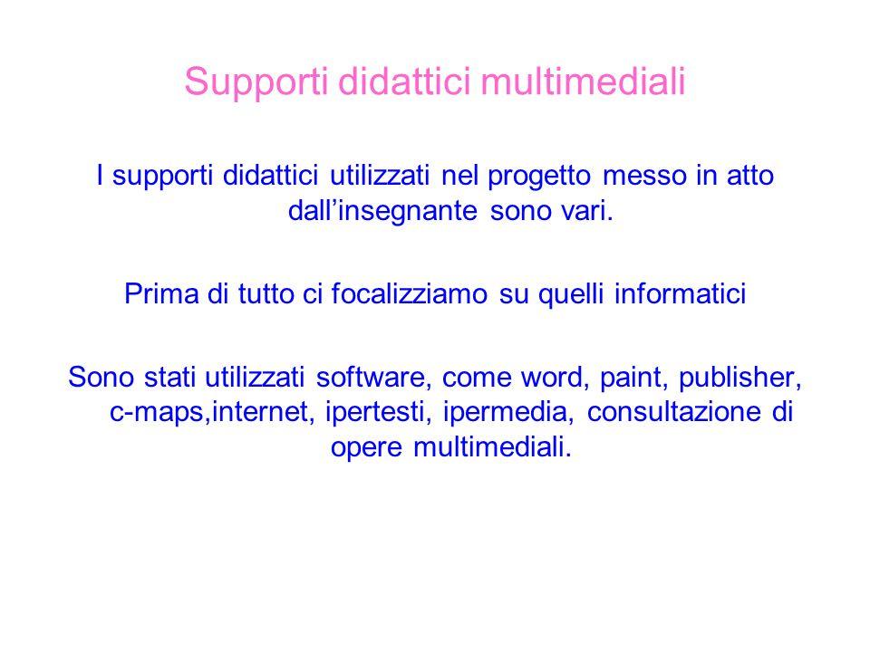 Supporti didattici multimediali