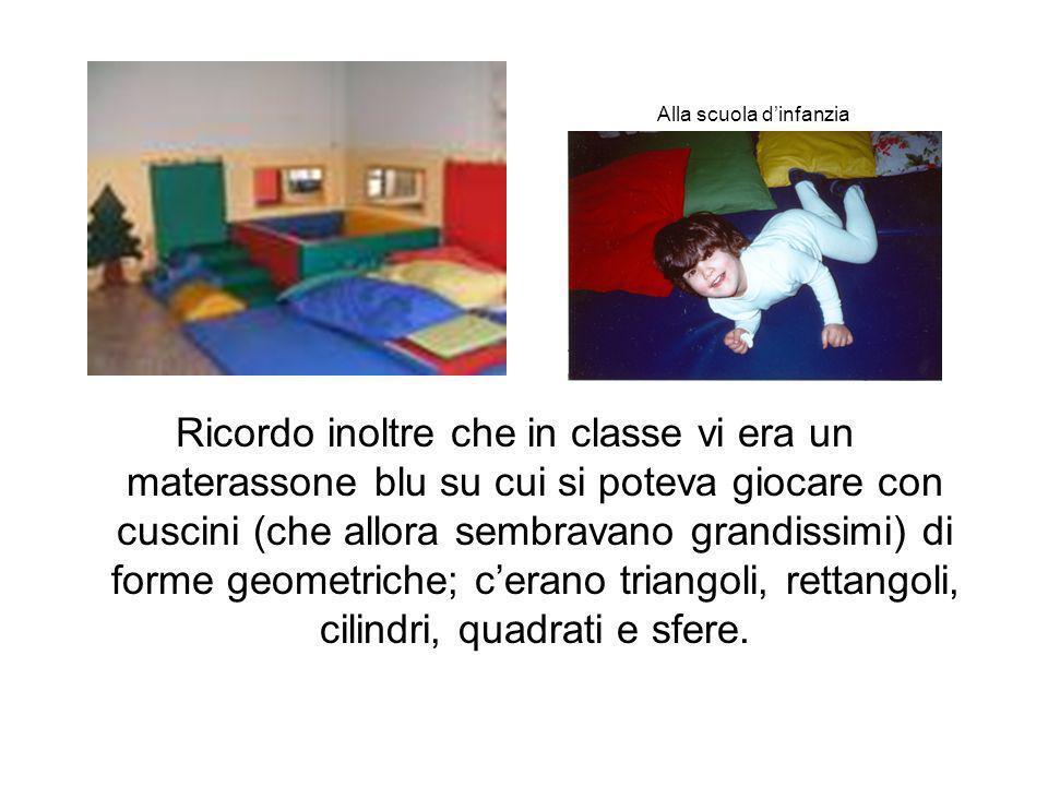 Alla scuola d'infanzia