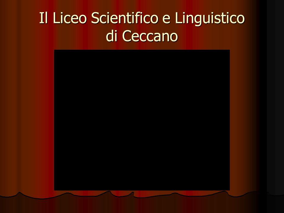 Il Liceo Scientifico e Linguistico di Ceccano