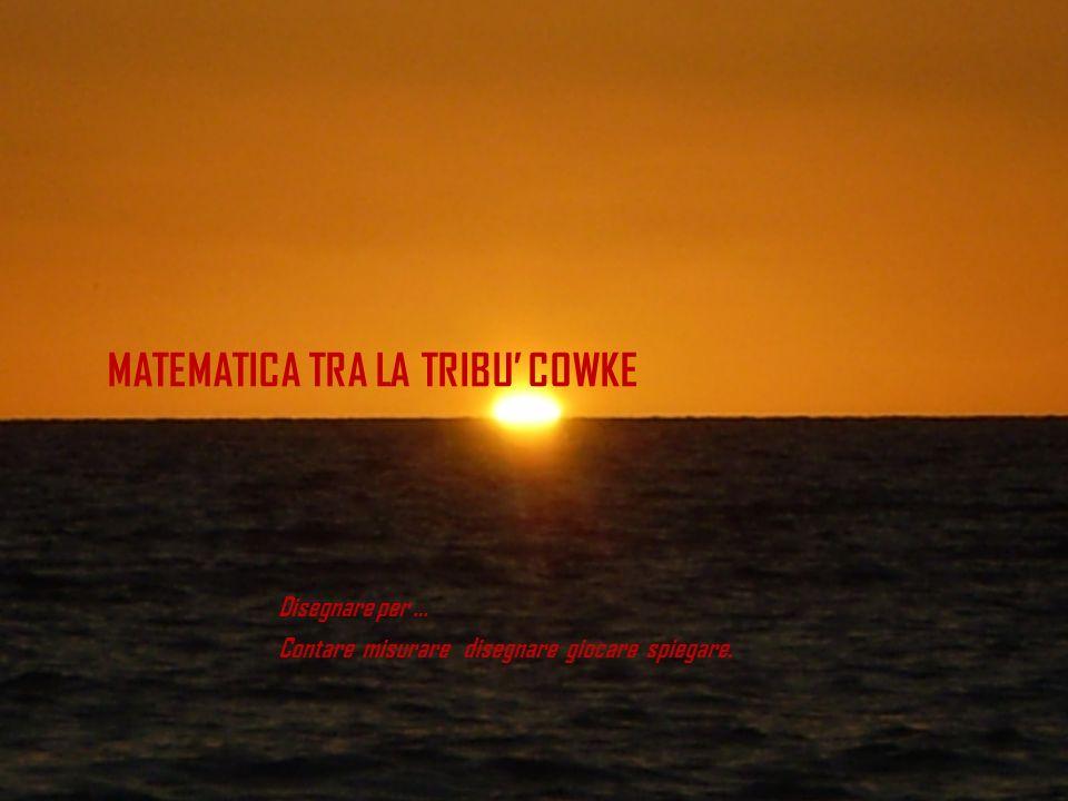 MATEMATICA TRA LA TRIBU' COWKE